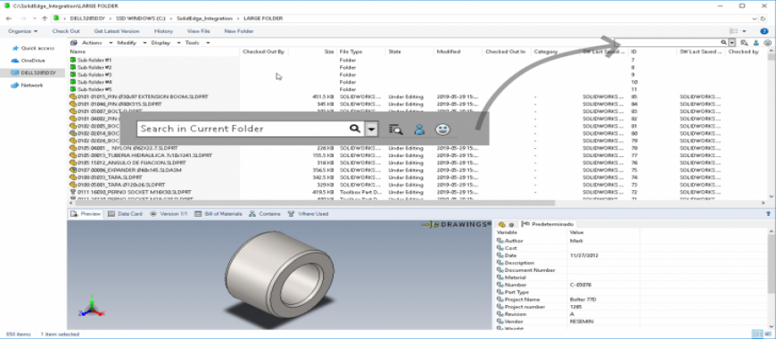 Top 3 Enhancements in SOLIDWORKS PDM 2020