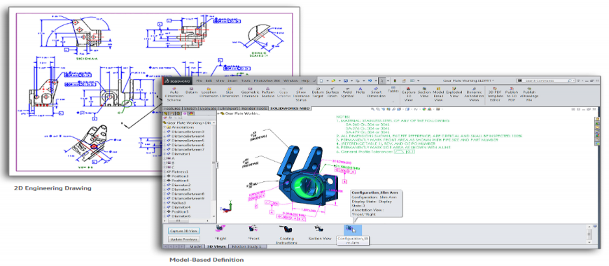 Improve Quality, Reduce Costs, and Increase Efficiency with SOLIDWORKS MBD