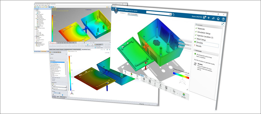 SOLIDWORKS Plastics: Perform a Simulation to Analyze Injection Moulds and Plastic Parts