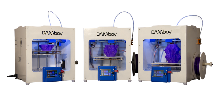 DAMBOY – The Most Affordable and Accurate FDM 3D Printer