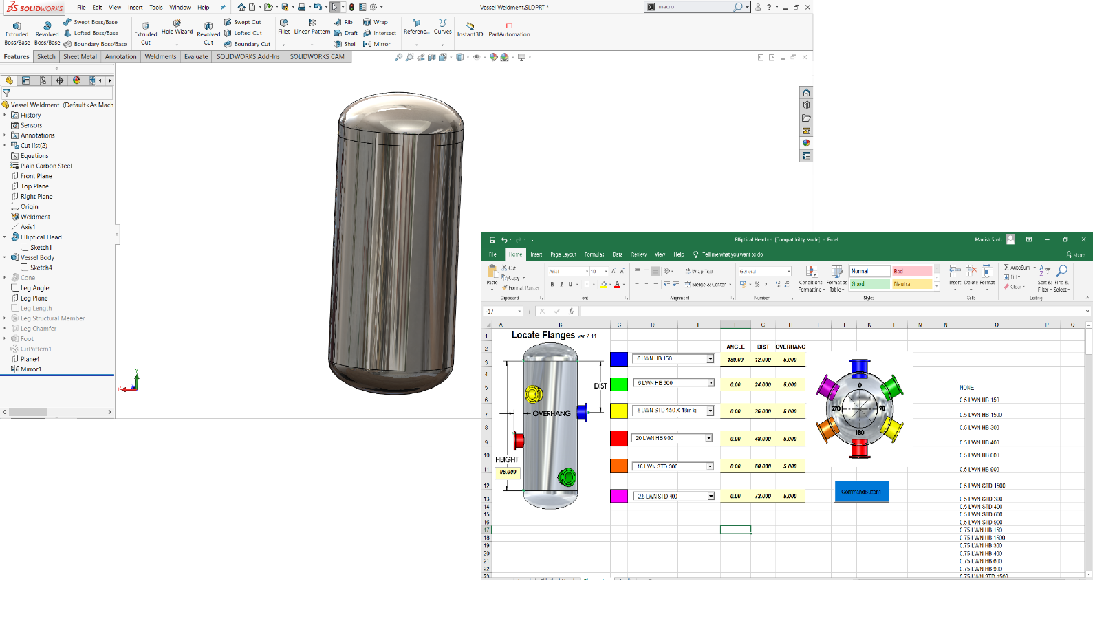 microsoft application solidworks api