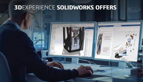 <b>3D</b>EXPERIENCE SOLIDWORKS Premium