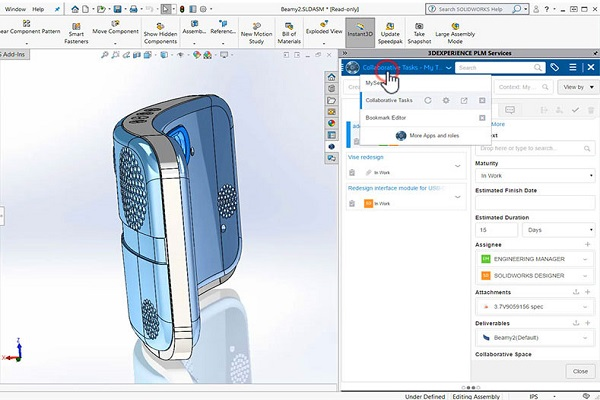 Access SOLIDWORKS Data from the Cloud