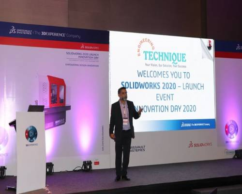 SOLIDWORKS 2020 Launch Event - Welcome Speech By Mr. Ravindra Kulkarni (Director Of Engineering Technique)