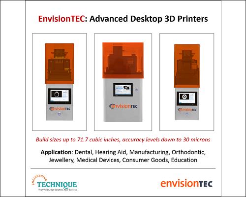 EnvisionTEC Advanced Desktop 3D Printer