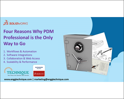 Four Reasons Why PDM Professional Is The Only Way To Go