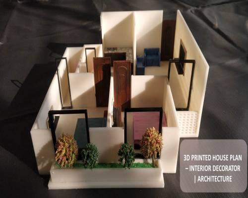 3D Printed House Plan