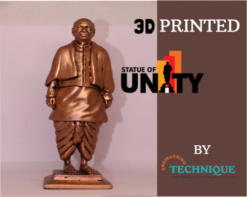 3D Printed Statue Of Unity