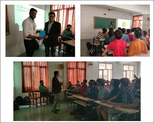Entrepreneurship Talk At Parul Institute Of Engineering And Technology