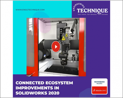 Connected Ecosystem Improvements In SOLIDWORKS 2020