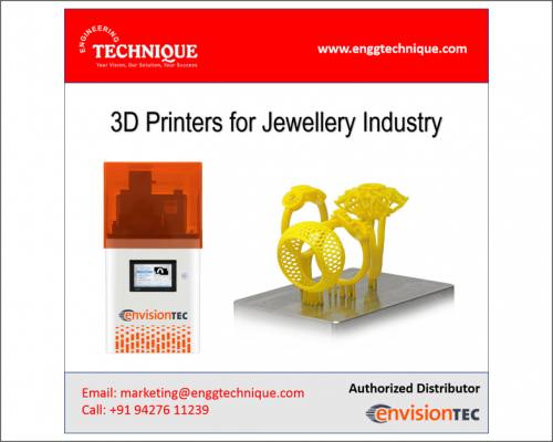 3D Printers For Jewelry Industry