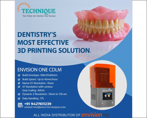 Dentistry's Most Effective 3D Printing Solution