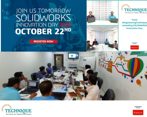 SOLIDWORKS Innovation Day 2020 Virtual Event - Team Engineering Technique