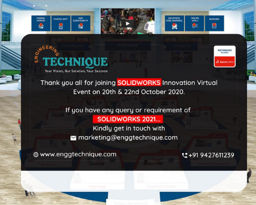 SOLIDWORKS Innovation Day 2020 Virtual Event - Engineering Technique