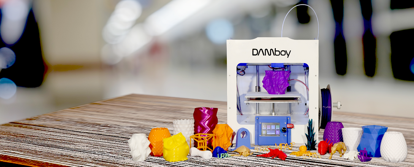 DAMboy - Made In India FDM 3D Printer Manufacturer